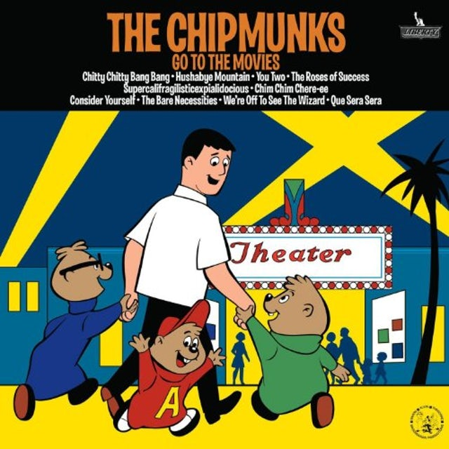 Alvin and the Chipmunks GO TO THE MOVIES CD