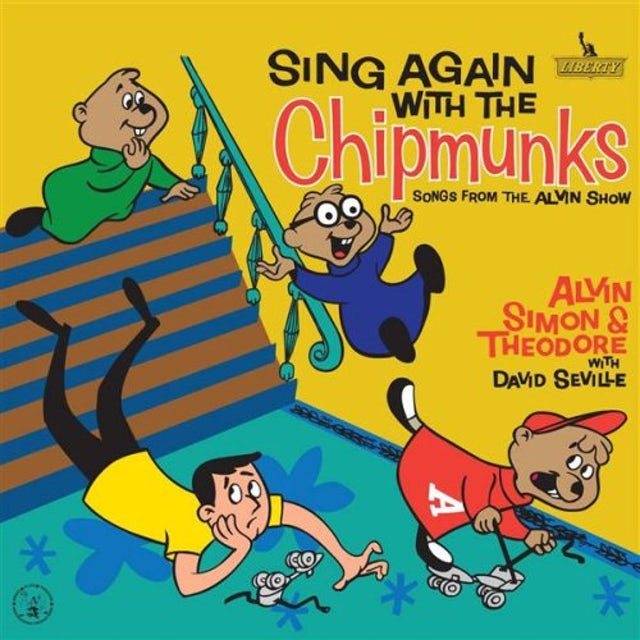 Alvin and the Chipmunks SING ALONG CD