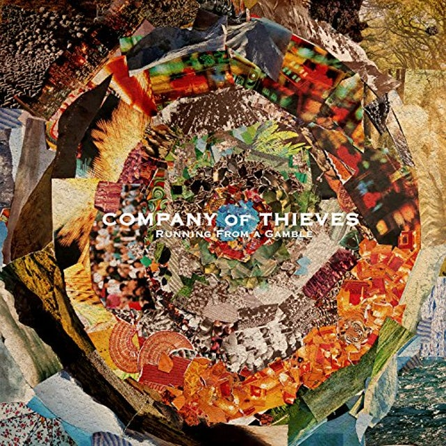 Company of Thieves RUNNING FROM A GAMBLE CD