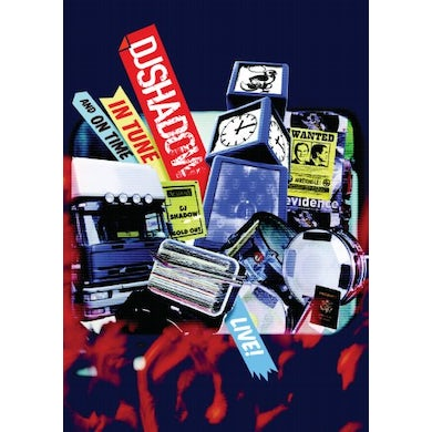 Dj Shadow IN TUNE & ON TIME DVD