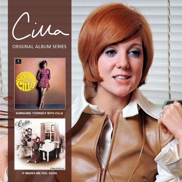 Cilla Black SURROUND YOURSELF WITH CILLA / IT MAKES ME FEEL CD