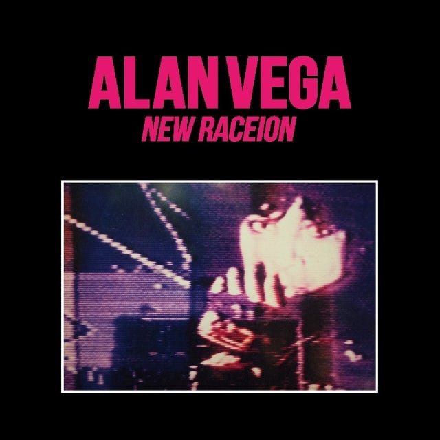 Alan Vega NEW RACEION CD