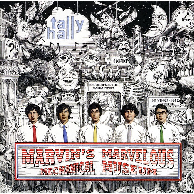 Tally Hall MARVIN'S MARVELOUS MECHANICAL MUSEUM CD
