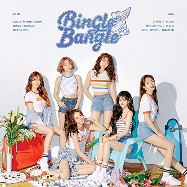 AOA BINGLE BANGLE (READY VERSION) CD