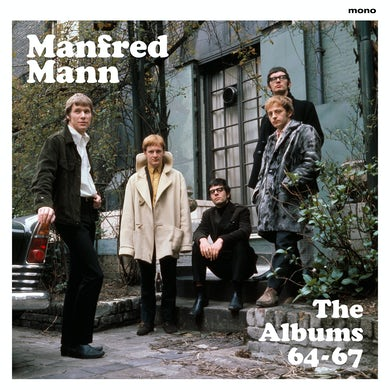 Manfred Mann THE ALBUMS '64-'67 (MONO RECORDINGS) Vinyl Record
