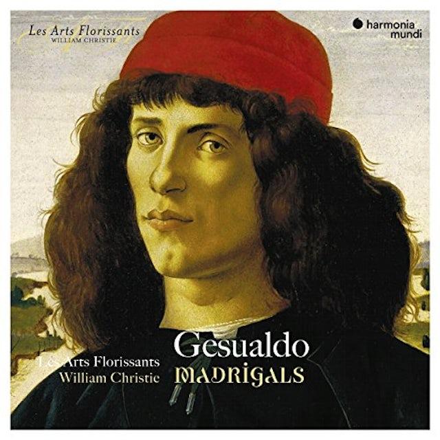 Arts Florissants GESUALDO: MADRIGALS CD