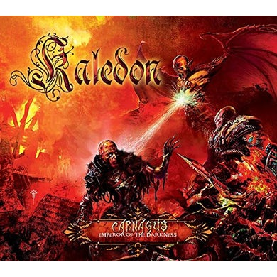 Kaledon CARNAGUS: EMPEROR OF THE DARKNESS Vinyl Record