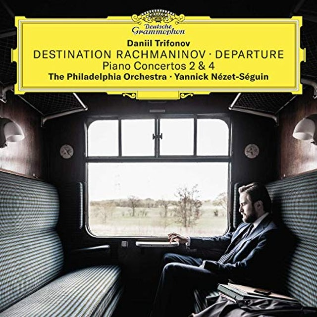 Daniil Trifonov DESTINATION RACHMANINOV - DEPARTURE CD