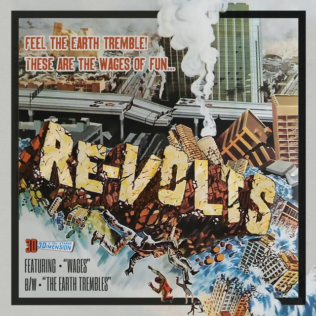Re-Volts WAGES Vinyl Record