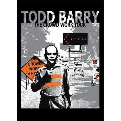 Todd Barry CROWD WORK TOUR DVD