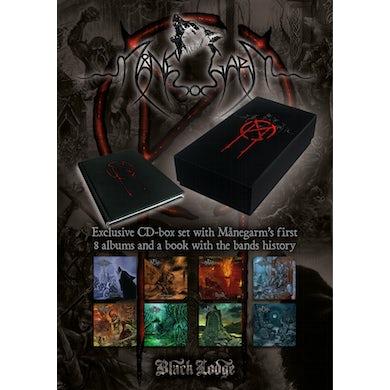 Manegarm 8CD BOXSET + BOOK CD