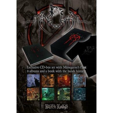 Manegarm 8CD BOXSET + BOOK + T-SHIRT CD - Shirt Included
