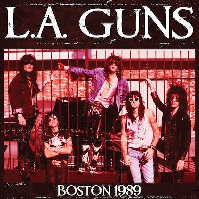 LA Guns BOSTON 1989 - Limited Edition Colored Vinyl Record
