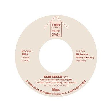 Tyree ACID CRASH / HARDCORE HIP HOUSE (JOE SMOOTH) Vinyl Record