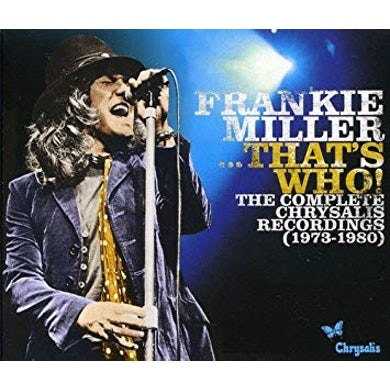 Frankie Miller THAT'S WHO - COMPLETE CHRYSALIS RECORDINGS CD