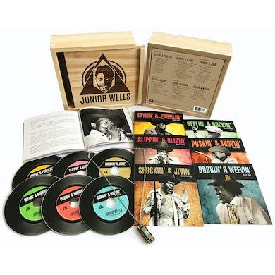 Junior Wells BOX OF BLUES CD
