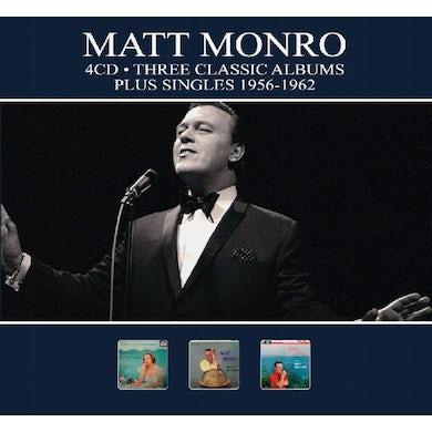 Matt Monro 3 CLASSIC ALBUMS PLUS SINGLES 1956-1962 CD