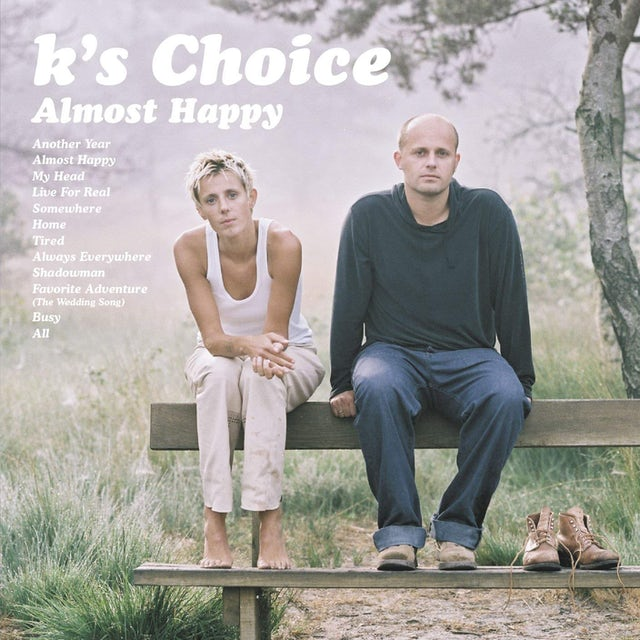 K's Choice ALMOST HAPPY CD
