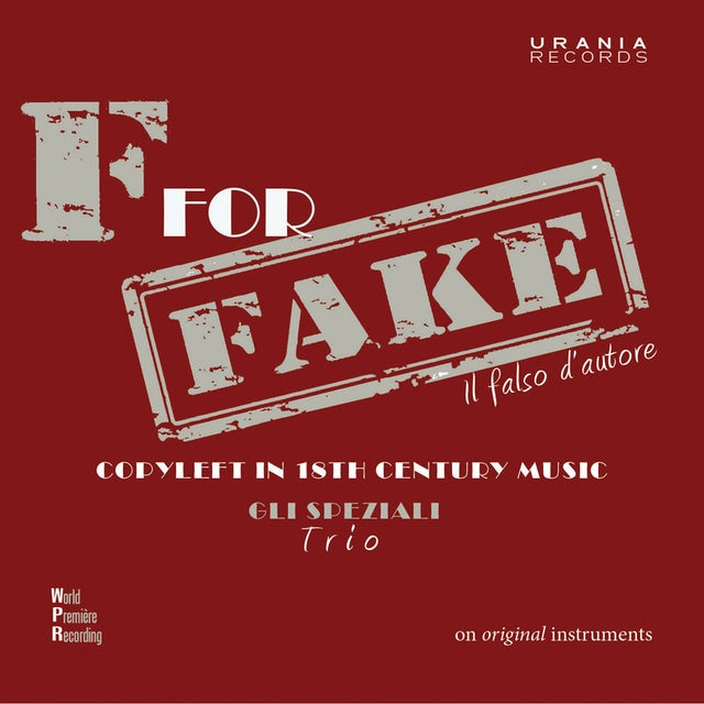 J.C. Bach F FOR FAKE CD
