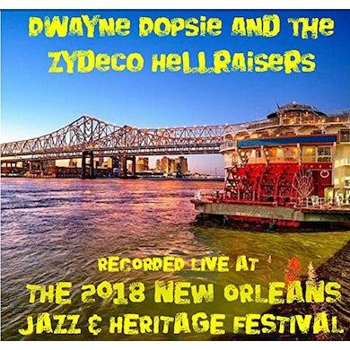 Dwayne Dopsie LIVE AT JAZZFEST 2018 CD