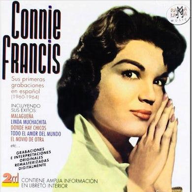 Connie Francis SUS PRIMERAS GRABACIONES EN ESPANOL (1960-1964) CD