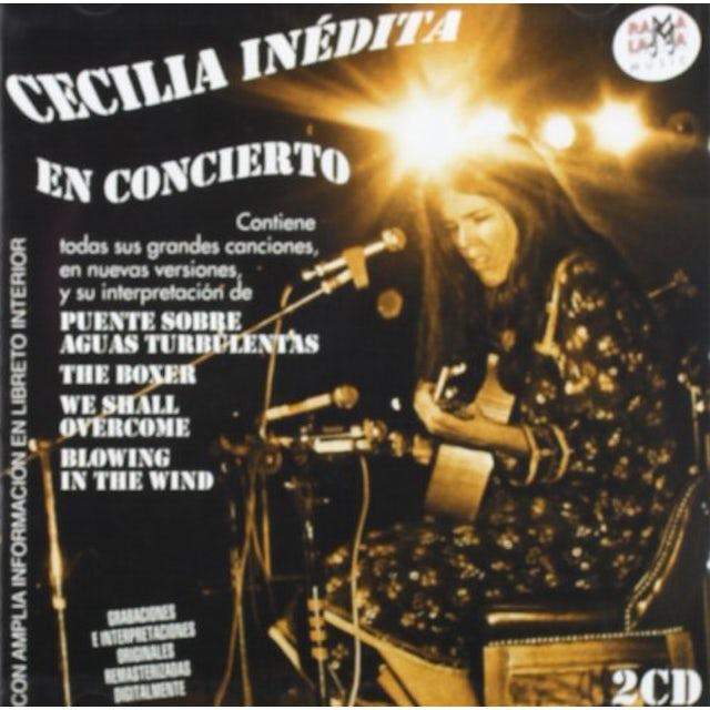 Cecilia INEDITA EN CONCIERTO CD