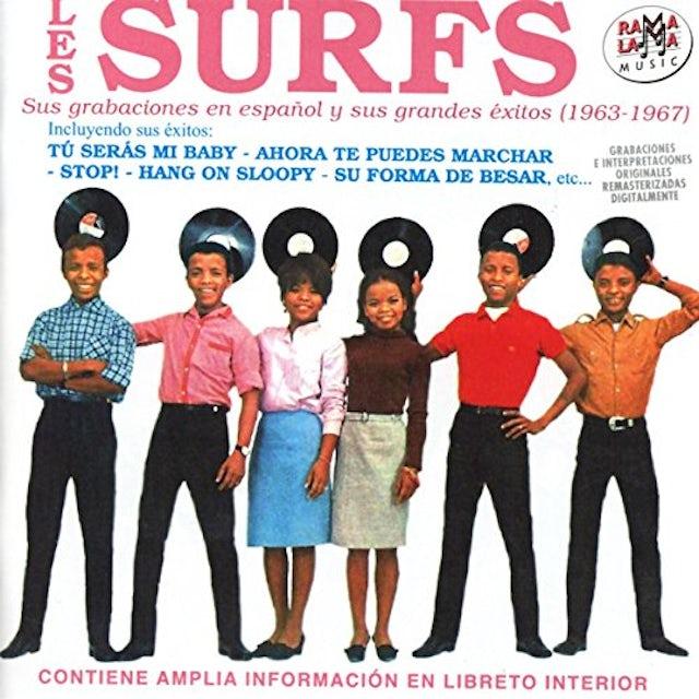 Les Surfs SUS GRABACIONES EN ESPANOL Y SUS GRANDES EXITOS CD