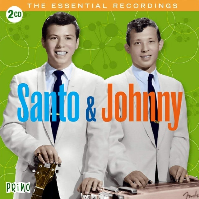 Santo & Johnny ESSENTIAL RECORDINGS CD