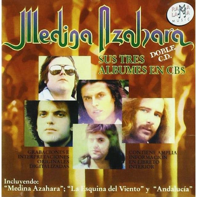Medina Azahara SUS TRES ALBUMES EN CBS CD