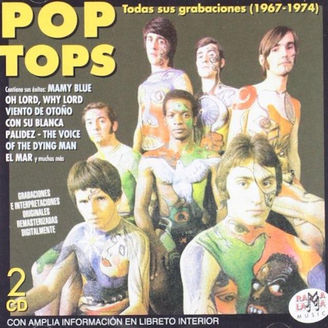 Pop Tops TODAS SUS GRANACIONES 1968-1974 CD