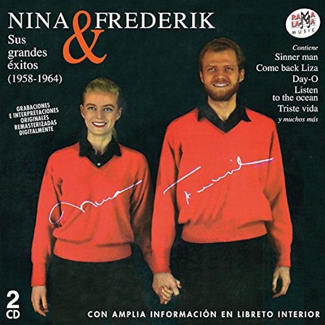 Nina & Frederick SUS GRANDES EXITOS 1958-1964 CD