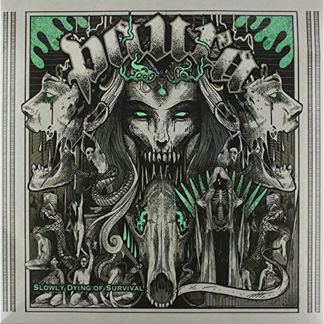 Paura SLOWLY DYING OF SURVIVAL Vinyl Record