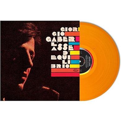 Giorgio Gaber L'ASSE D'EQUILIBRO Vinyl Record