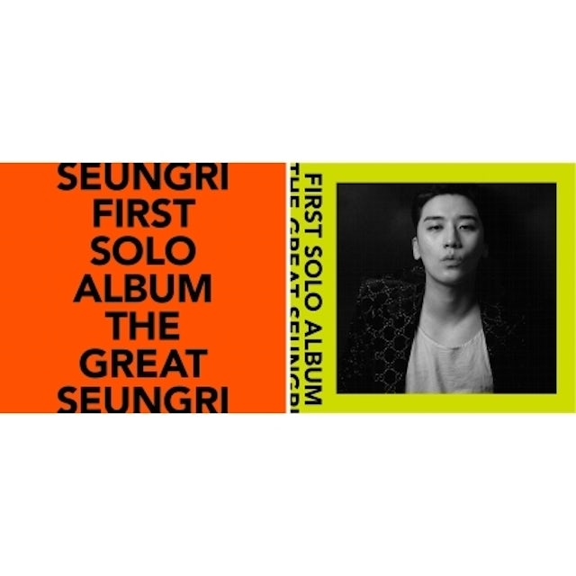 GREAT SEUNGRI (RANDOM COVER) CD