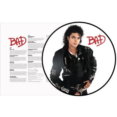 Michael Jackson BAD Vinyl Record