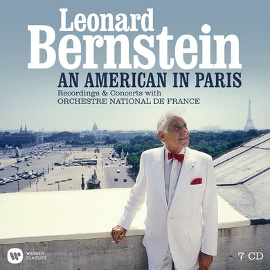 Leonard Bernstein AN AMERICAN IN PARIS (BOXSET WITH THE ORCHESTRE) CD