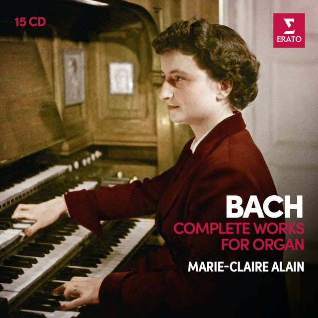 Marie-Claire Alain BACH: COMPLETE ORGAN WORKS CD