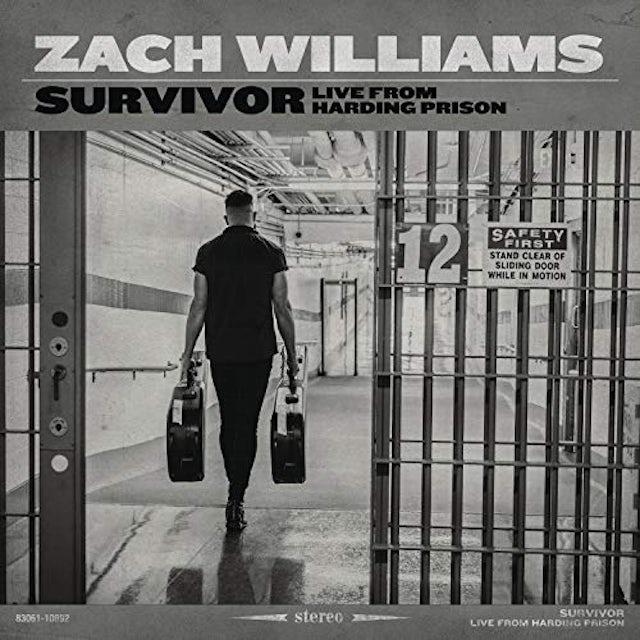 Zach Williams SURVIVOR: LIVE FROM HARDING PRISON CD