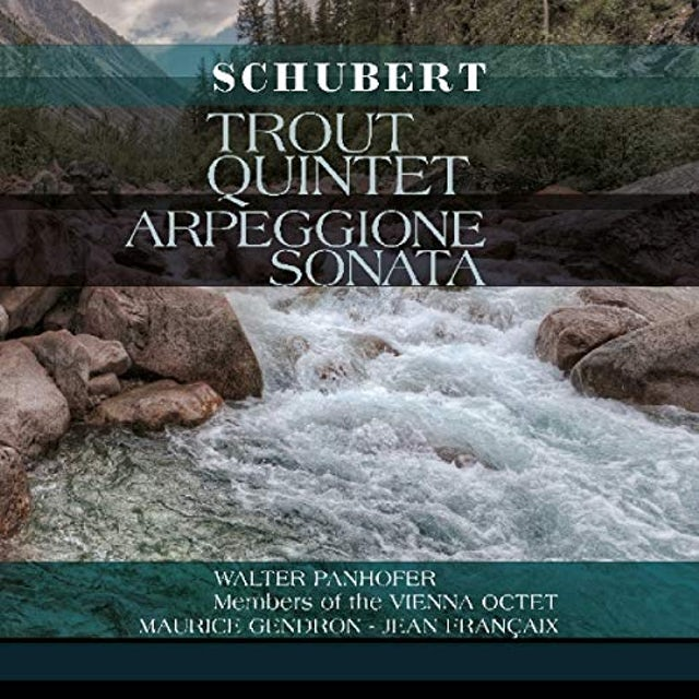 Franz Schubert TROUT QUINTET / ARPEGGIONE SONATA Vinyl Record
