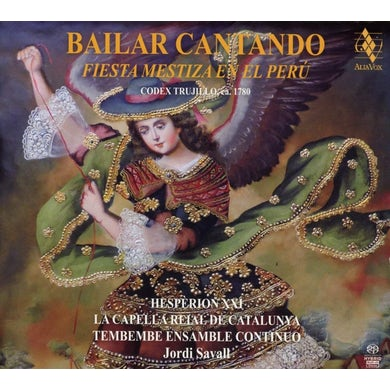Jordi Savall BAILAR CANTANDO - FIESTA MESTIZA EN EL PERU CD