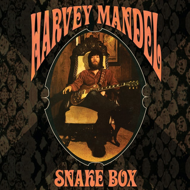 Harvey Mandel SNAKE BOX CD