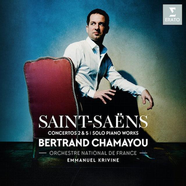 Bertrand Chamayou SAINT-SAENS: PIANO CONCERTOS NOS. 2 & 5 PIECES CD