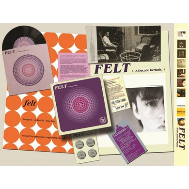 Felt FOREVER BREATHES THE LONELY WORD CD