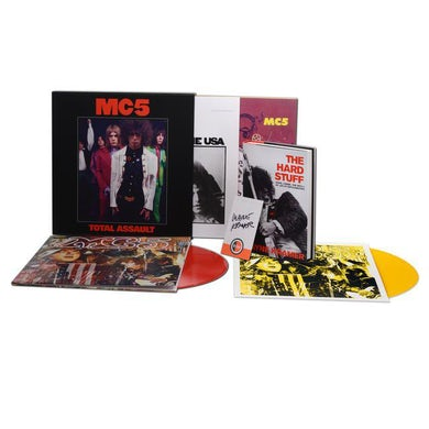 MC5 TOTAL ASSAULT: 50TH ANNIVERSARY COLLECTION Vinyl Record Box Set