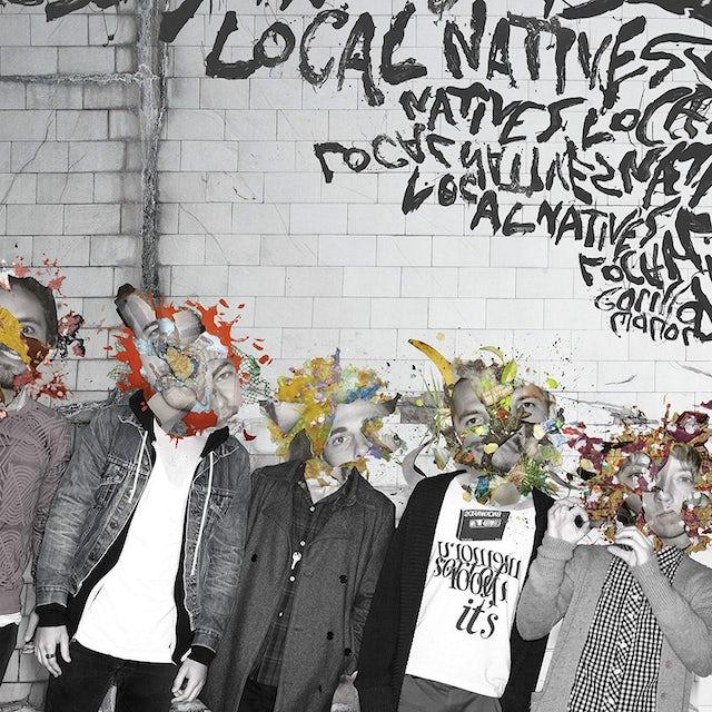 Local Natives GORILLA MANOR Vinyl Record - Colored Vinyl, Pink Vinyl
