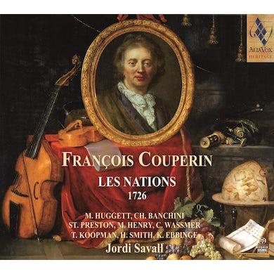 Jordi Savall COUPERIN: LES NATIONS CD Super Audio CD