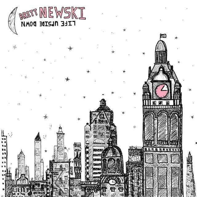 Brett Newski LIFT UPSIDE DOWN CD