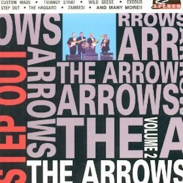 Arrows STEP OUT CD