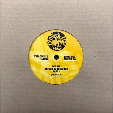 Mr Lif RETURN OF THE B-BOY PART 1 & PART 2 Vinyl Record