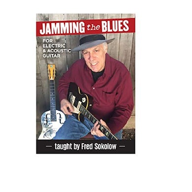 Fred Sokolow JAMMING THE BLUES DVD
